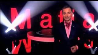 """Световые буквы для ТВ передачи """"Мафия"""""""