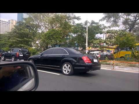 Prime minister of Turkey in Manila traffic