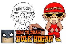 How to Draw Hulk Hogan | WWE (Art Tutorial)