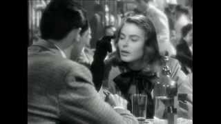 """Hitchcock """"Notorius, l'amante perduta""""  -Ho avuto sempre paura delle donne, ma so cavarmela.-"""
