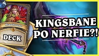 KINGSBANE PO NERFIE?! - KingsAggro ROGUE - Hearthstone Deck (Rastakhan's Rumble)