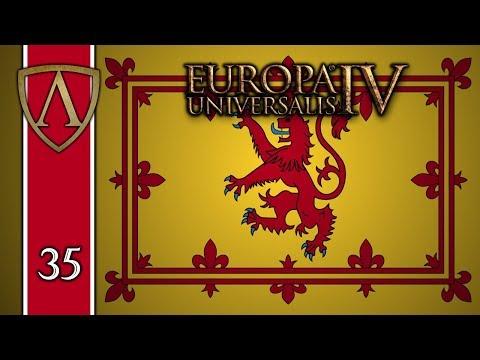 Let's Play Europa Universalis IV -- Rule Britannia -- Scotland -- Part 35