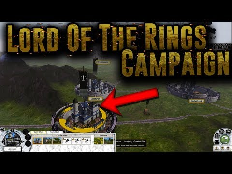 NEW Lord Of The Rings Campaign! - Total War: The Last Alliance