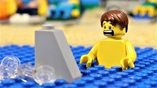 Lego Shark Attack  - stop motion