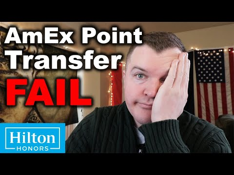 My AmEx Point Transfer FAIL (DO NOT DO)
