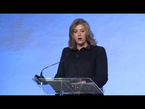 Solutions Summit 2018: Penny Mordaunt, UK Secretary of State for International Development