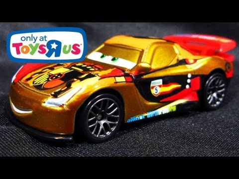 MIGUEL CAMINO With Metallic Finish Ransburg Cars 2 Toys