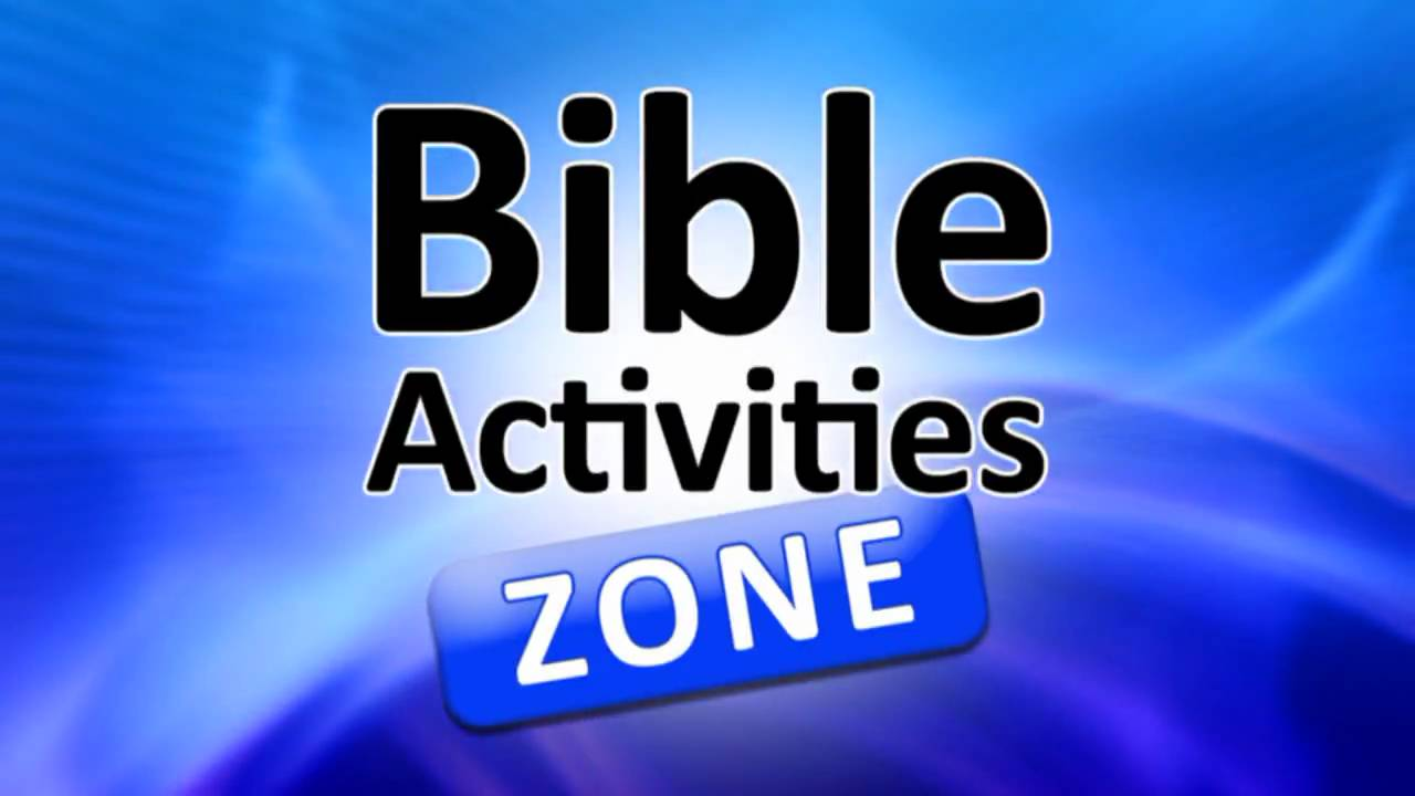 Bible Activities Zone - Online Games For All Ages