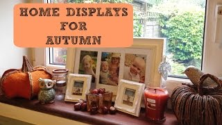 AUTUMN (FALL) DECORATIONS FOR THE HOME!