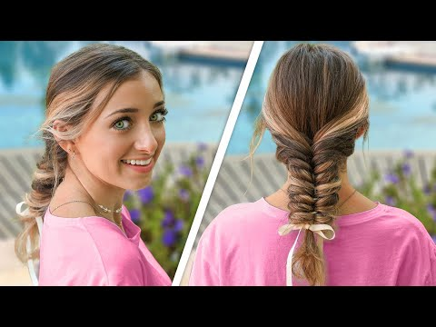 brooklyn's-easy-ribbon-fishtail-braid-|-diy-summer-hairstyle