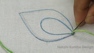 buttonhole stitch embroidery [bordados a mano para principiantes] hand embroidery for beginners
