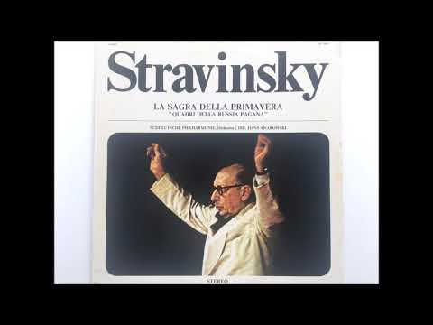 "Stravinsky ""Rite of spring""  - Hans Swarowsky  (from LP)"