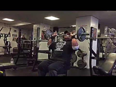 Thigh Stop Press-Upright Row Superset