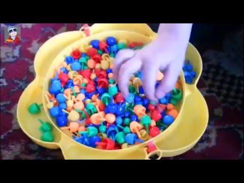 VLOG:/Макс играет/ Макс собирает различные картинки из мозаики