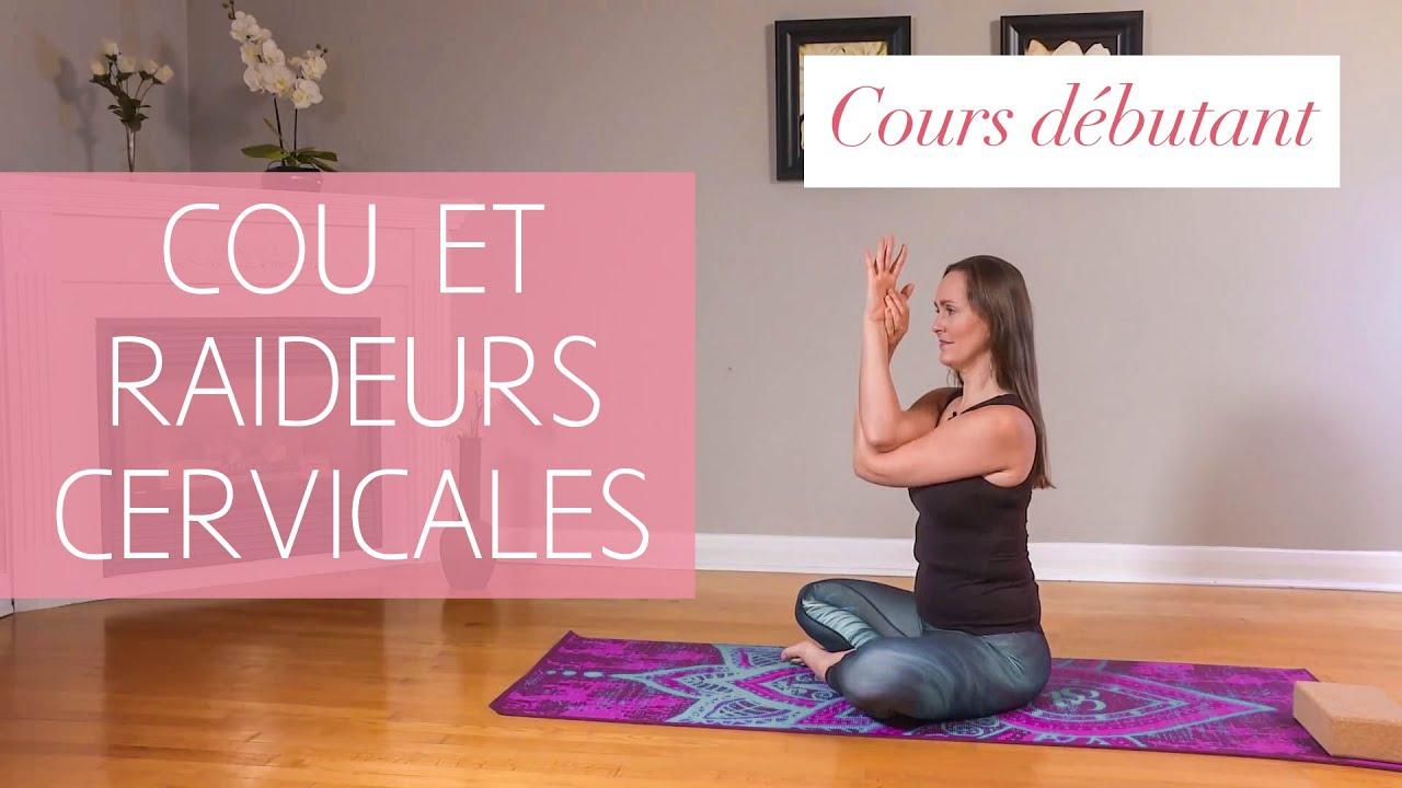cours de yoga d butant pour le cou les raideurs cervicales avec maryse lehoux youtube. Black Bedroom Furniture Sets. Home Design Ideas