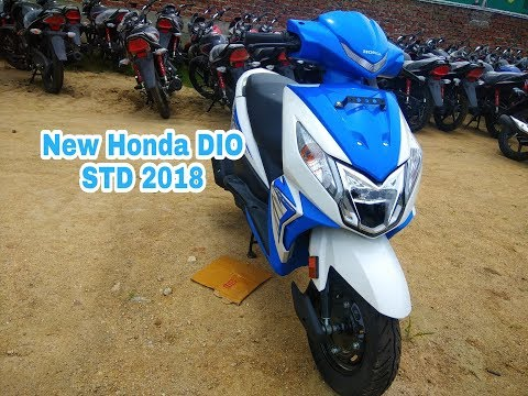 New 2018 Honda DIO STD Blue colour Walkaround