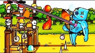 Grow Castle #4 Мультфильм Игра о развитии и защите замка Игровой мультик для детей #Мобильные игры