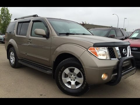 Pre Owned Gold Desert 2007 Nissan Pathfinder 4WD SE In Depth Review | Grande Prairie Alberta
