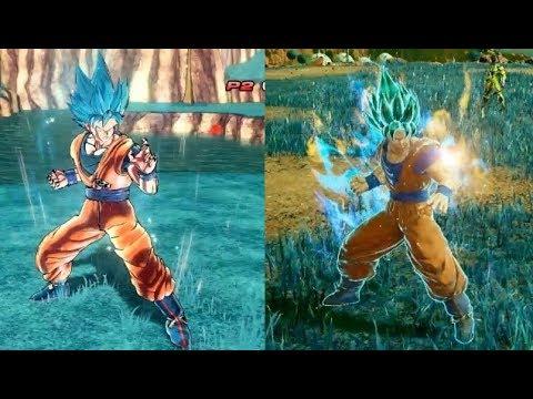 JUMP FORCE vs Dragon Ball Xenoverse 2 - Goku, Vegeta, Freeza Comparison