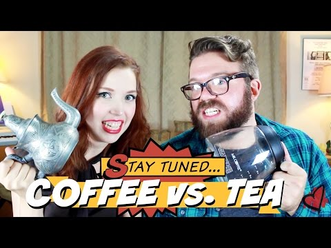 Coffee vs. Tea with ELLIOT WADSWORTH- Top 5 - Teatime with Mary