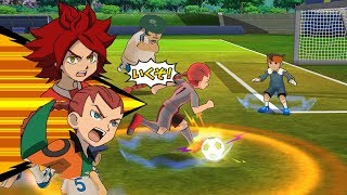 Inazuma Eleven Go Strikers 2013 Chaos Angel Rei Vs Mega Inazuma Eleven Wii 1080p (Dolphin/Gameplay)