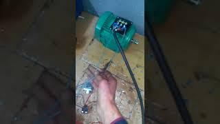 Cours en électricité : freinage d'un moteur asynchrone triphasé avec un courant continu