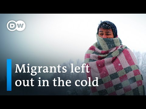 Migrants in Bosnia face dire cold after camp burns down | DW News