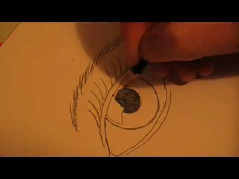 Disegno di occhio youtube for Immagini da disegnare a matita facili