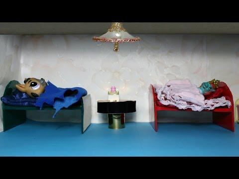 видео: Как сделать кровать для Лпс и Май Литл Пони.how to make a bed for lps and mai little pony.