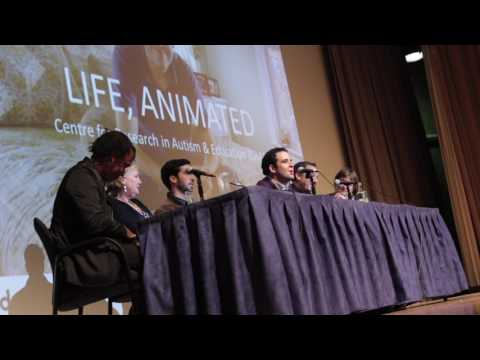 Life, Animated Q&A at UCL with The Suskind Family and Roger Ross Williams