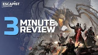 Remnant: From the Ashes | Review in 3 Minutes (Video Game Video Review)