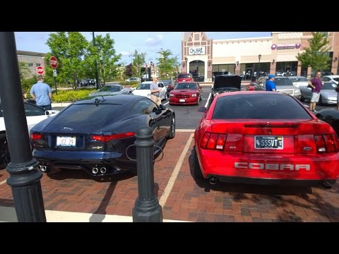 Cars and Coffee, Calibre Coffee Coffee South Barrington IL 7/19/15