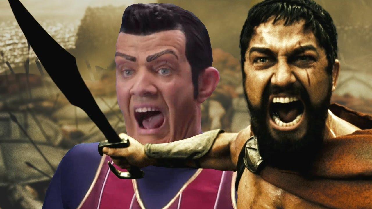 Смешная картинка спарта