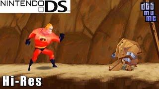 İnanılmaz: the Underminer Yükselişi - Nintendo DS Oyun Yüksek Çözünürlük (DeSmuME)