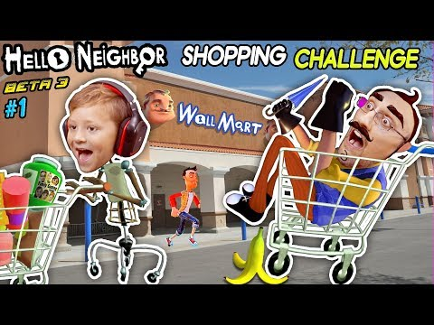 HELLO NEIGHBOR SHOPPING