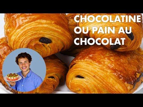 RECETTE DES CHOCOLATINES OU PAINS AU CHOCOLAT