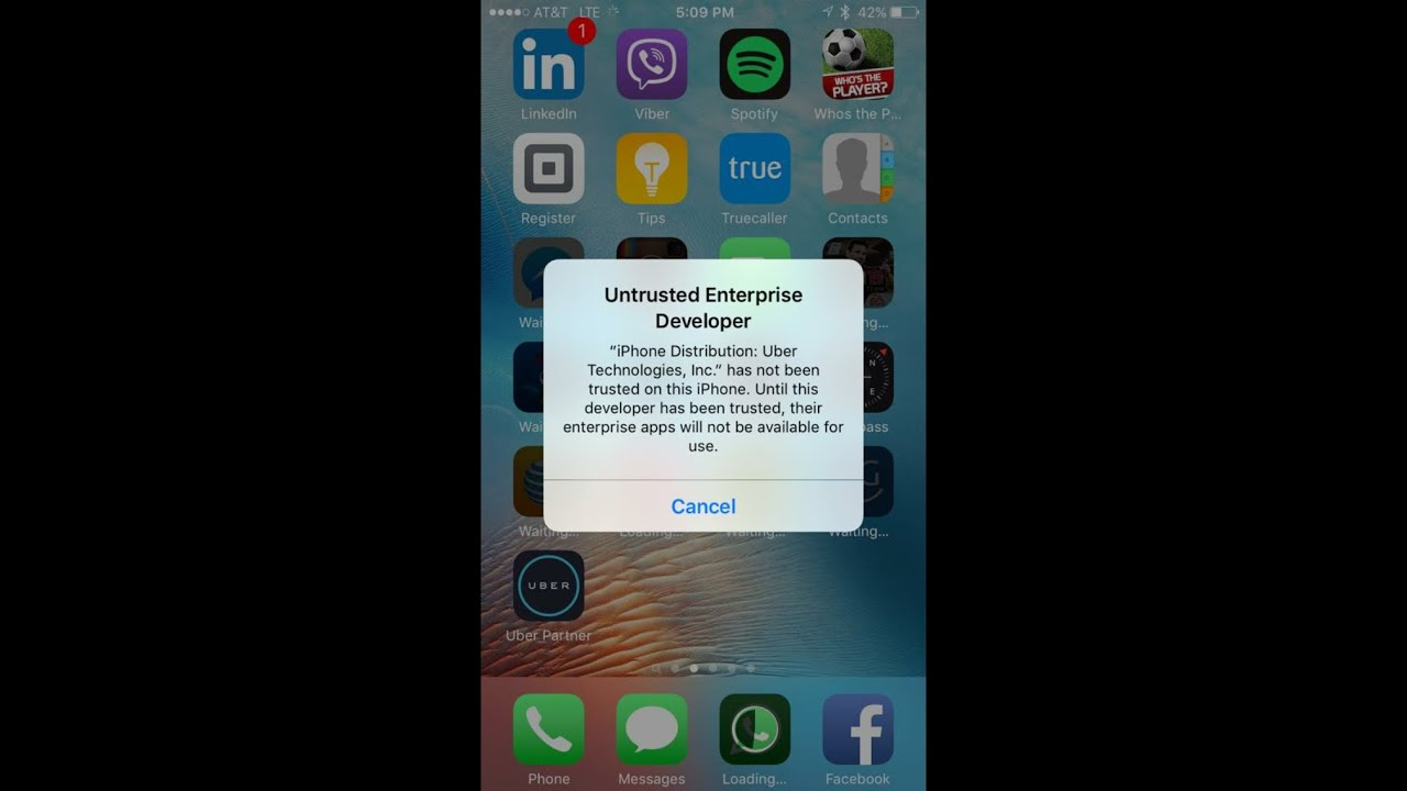 how to download uber partner app on iphone 6
