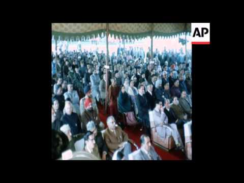 SYND 26 2 75 SHEIKH ABDULLAH BECOMES NEW CHIEF MINISTER OF JAMMU AND KASHMIR