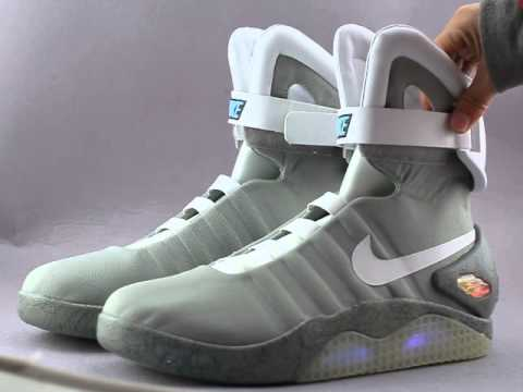 0e9f0d2508c nike air mag replica sneakers light in night free shipping
