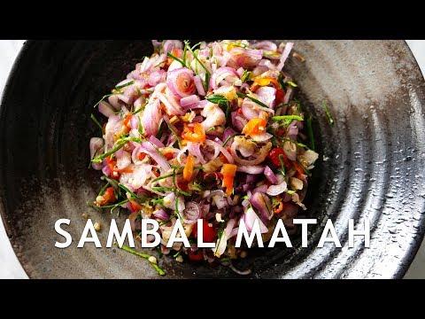 RESEP SAMBAL MATAH ANTI GAGAL!