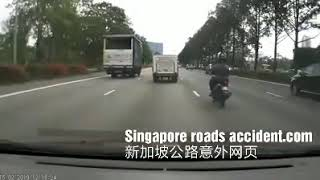 Accident along AYE towards MCE