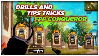 Top 3 Drills To Achieve The Conqueror Title In FPP - Pubg Mobile
