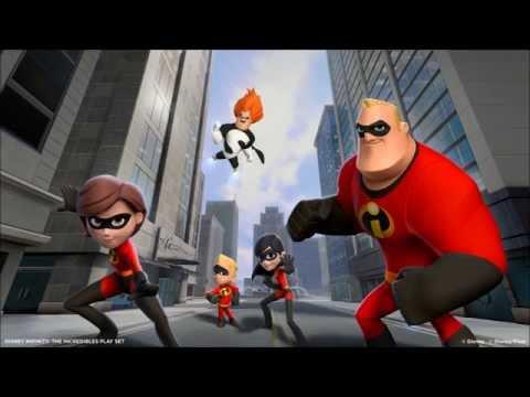 Disney Infinity Incredibles Playset Music