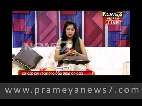 Break fast Odisha with talented actress #sheetal pattnaik
