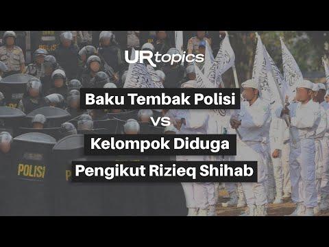 Baku Hantam Polisi VS FPI