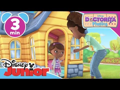 Doctorița Plușica – Lenny Mașina de Pompieri. Doar la Disney Junior!