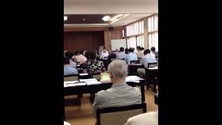外交安全保障(中国問題)についての講演(前半)