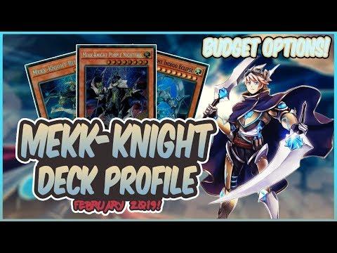 YuGiOh! *COMPETITIVE* In-Depth Mekk Knight Deck Profile! + Budget Options!