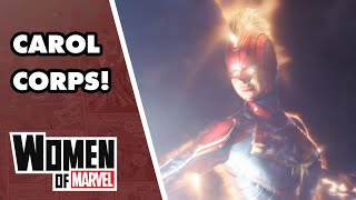 Meet Amazing Members of The Carol Corps! | Women of Marvel