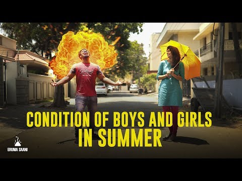 Eruma Saani  Condition of Boys & Girls in Summer